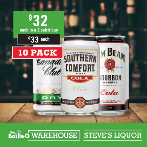 Steves Canadian Sth Comf Jim Beam 32