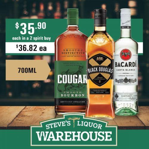 Steves Cougar B Douglas Bacardi 35 90