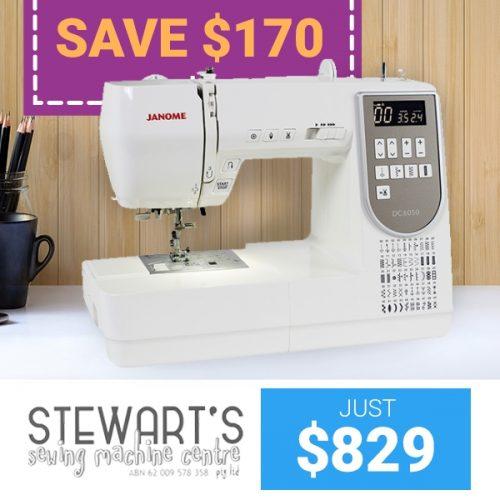 Stewarts Janome DC6050