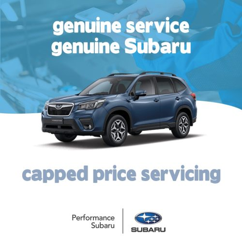 Subaru Service Offers Forester