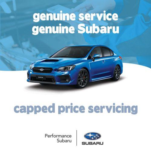 Subaru Service Offers WRX