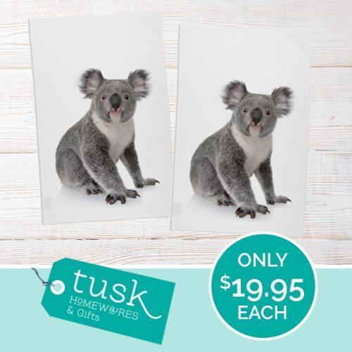Tusk Koala Teatowel