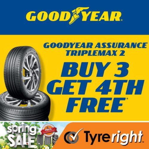 Tyreright Good Year Buy3