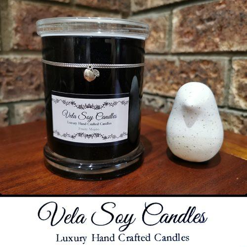 Vela Soy Candles Large Candle black