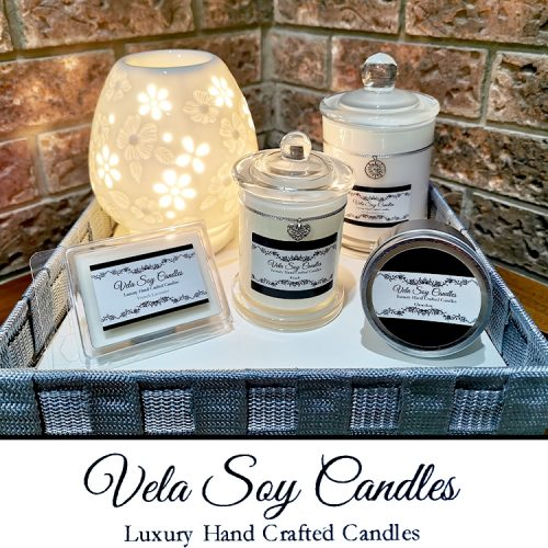 Vela Soy Candles White Package