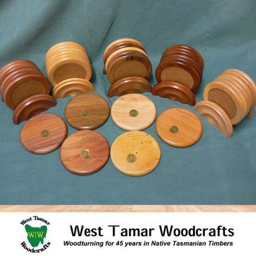 WT Woodcrafts 6 Coasters