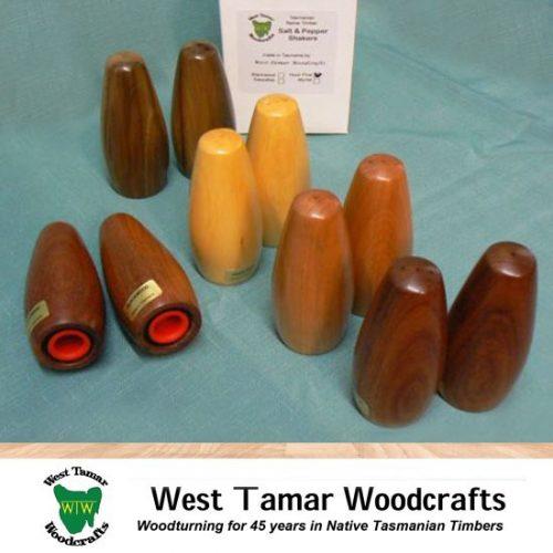 WT Woodcrafts Salt A Pepper Shakers