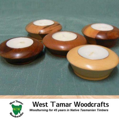 WT Woodcrafts Tea Candles